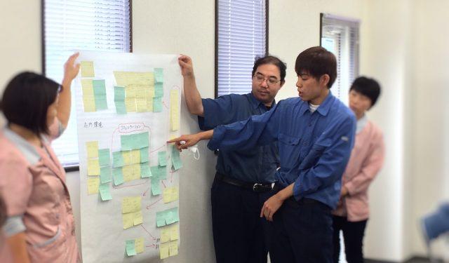 【業務改善会議】ニシキ精機はまだまだ発展途上。全社員の力を合わせて、みんなが気持ちよく仕事ができる環境を✨