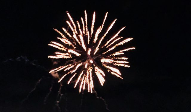 20歳誕生日会🎂✨花火を見ながらのビアガーデン🍺