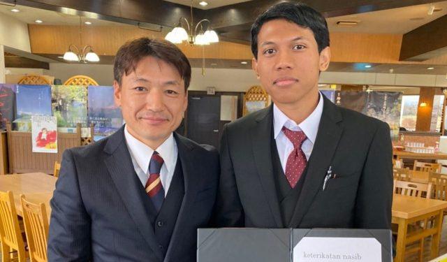 インドネシアからの技能実習生のお見送りをしました