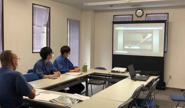 切削工具 WEB技術講習会を受講しました